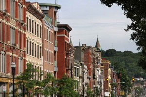 Over the Rhine in Cincinnati, home to the highest concentration of Italianate architecture in the U.S.