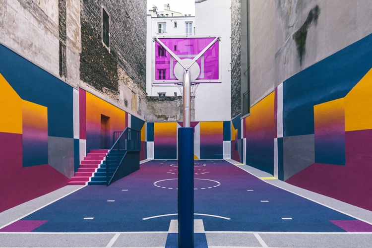 Basketball Court Ill Studio Designboom 1800
